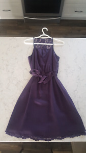 Banana Republic Purple Dress