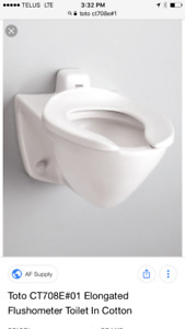 Toto Wall hung toilet