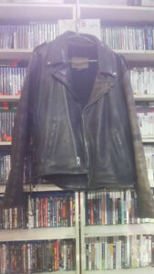 Indian Leather Motorcycle Jacket XL Authentic Original $299