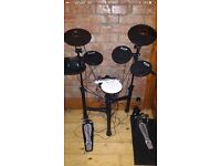 Drum kit / electric- stool -sticks