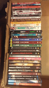 Blu-Rays, Seasons and DVD box sets at only $2 each