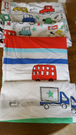 Two Next Toddler duvet sets