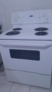"""30""""Stove White Electric whirlpool"""