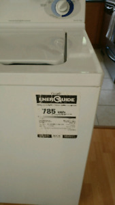 GE spacemaster washer with stacking frame