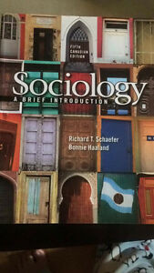 Sociology a Brief Introduction Textbook!!