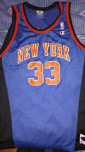 PATRICK EWING New York Knicks Jersey! Used EX CONDITION