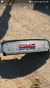 99-02 gmc sierra chrome grills