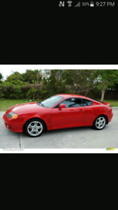 2003 hyundai tiburon parting out or selling car