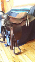 Western Saddle Package