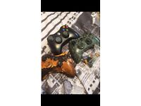3 Xbox 360 controllers