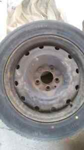 4 Winter Tires on Rims Prince George British Columbia image 4