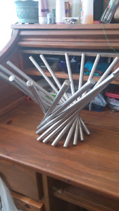 Collapseable metal decorative bowl $10