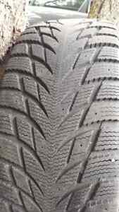 Blacklion Ice Pioneer Snow tires (205/55/16) Like New