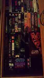 Vhs movies and star wars