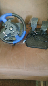 Ps3/Ps4 pro racing wheel & gas pedal