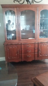 Free Curio Hutch (Glass Top ONLY)