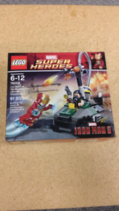 Lego Iron Man 76008 Iron Man vs. The Mandarin: Ultimate Showdown