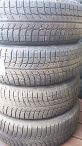4x 215/70/R15 Michelin X-Ice Winter Tires