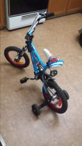 """14"""" Boys bike with seat suspension"""