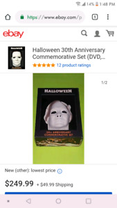 Halloween 30th Anniversary commeritiv limited edition set