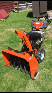 Husqvarna Snow blower trade for lawn tractor