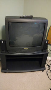 26'' TV/VCR Combo with Stand and Speakers