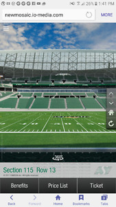 Pair of rider ticket preseason game and a pair 4 the home opener