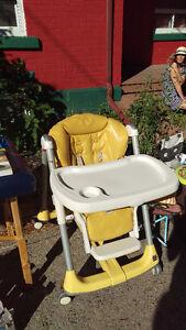 Chaise haute Prima Pappa de Peg Perego