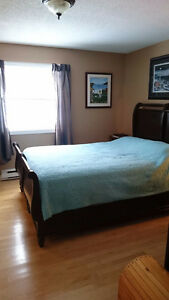 Furnished Master Bedroom with Bathroom - Everything Included