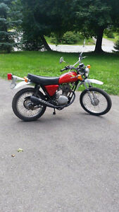 1974 Honda XL 100 in excellent shape (collector's item) Kitchener / Waterloo Kitchener Area image 1