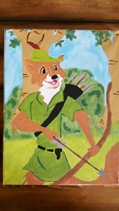 Disney paintings and more
