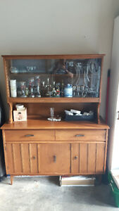 Vintage Knechtel 2 Piece Dining Room Hutch Offers Considered