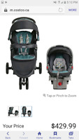 Graco Fast Action Fold Sport Travel System.