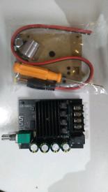 ZZ-1002L TPA3116D2 100WX2 Mini Bluetooth 5.0 Wireless Audio Power Digi