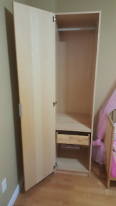 Two set of used Wardrobes for sale in a very good condition.