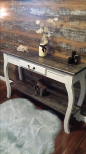 Handcrafted sofa / entry table New (SOLD)