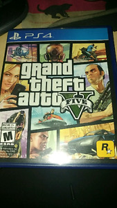 GTA 5 for PS4 20$