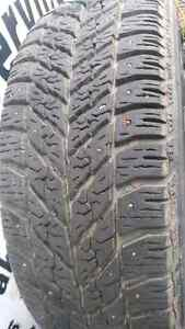 215/60/16 Goodyear ultra grip winter tires. Prince George British Columbia image 2