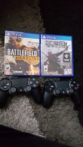 New controlers and 2 games