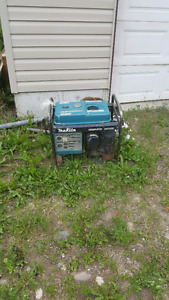 Generator for sale. Motor is blown but may be of some use.