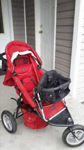 Valco Baby stroller and toddler seat