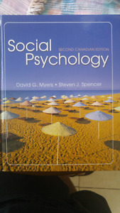 Social psychology 2nd canadian edition