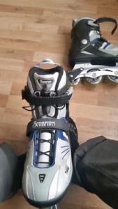 Men roller blade size 12 New!