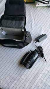 Canon video camera with 10x optical zoom