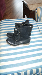 2 pairs of dress boots