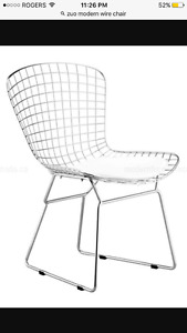 ** GORGEOUS ZUO MODERN CHAIRS + ACCENT TABLE