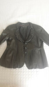 Authentic ARMANI female leather jacket for sale