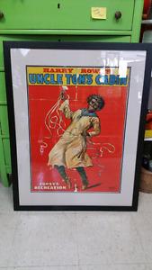 Antique Black Americana Poster