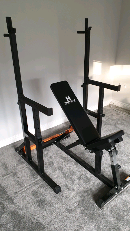Bench Press Squat Rack 140kg Olympic Weights In Hartlepool County Durham Gumtree