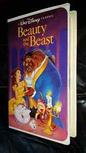 Walt Disney VHS Rare Black Diamond Edition Beauty and The Beast
